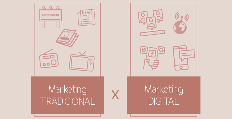Marketing Tradicional Versus Marketing Digital