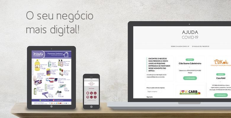 O seu negócio mais digital